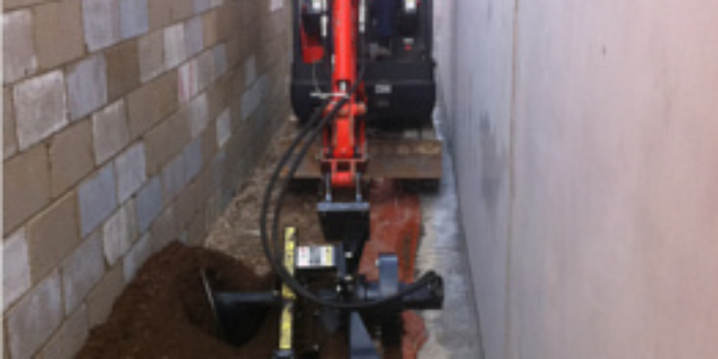 Tight Access Trench Digging Adelaide